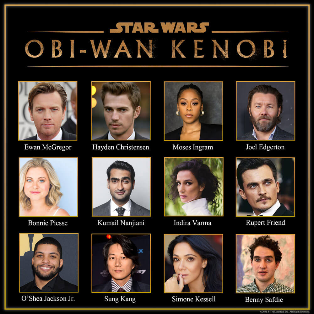 Obsada serialu o Obi-Wanie Kenobim