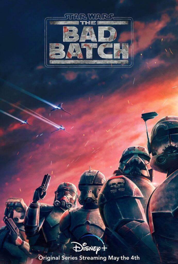 Plakat serialu Star Wars: The Bad Batch