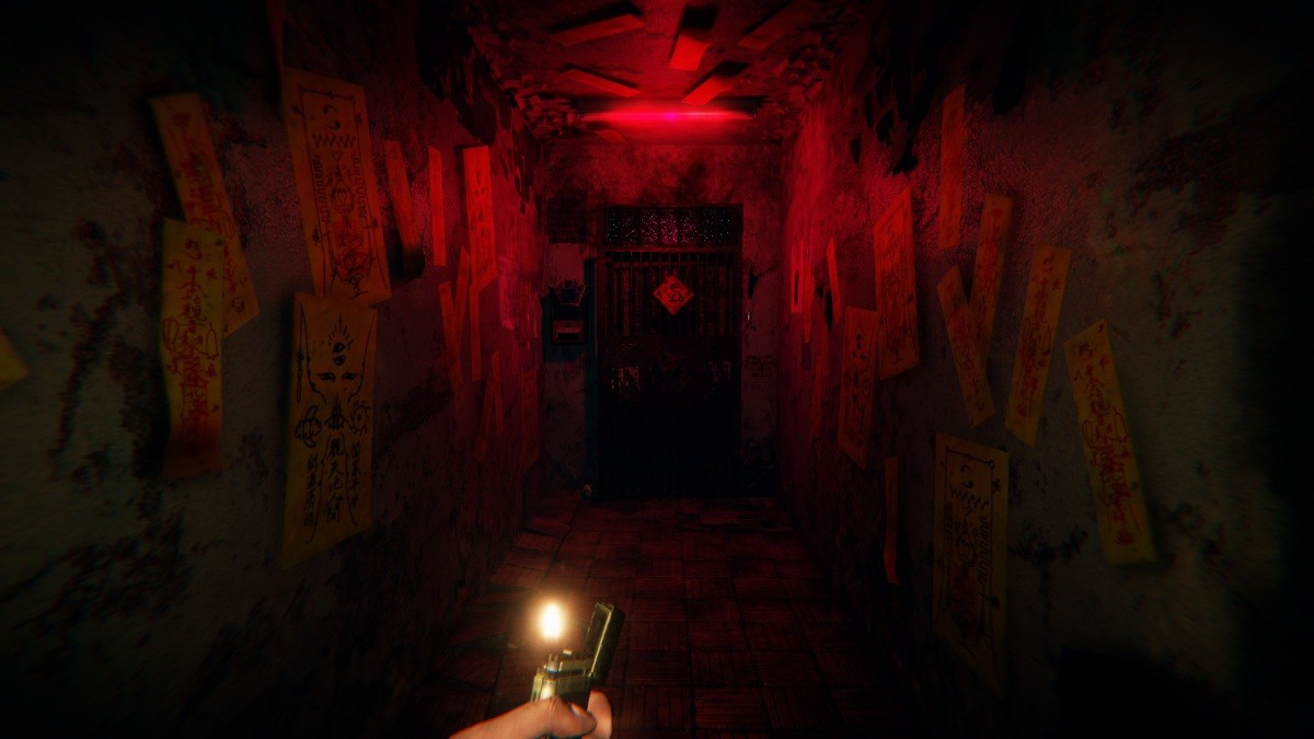 Screenshot FPP z gry Devotion