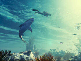 Zrzut ekranu z gry Maneater