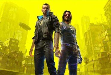 Johnny Silverhand i V z Cyberpunk 2077
