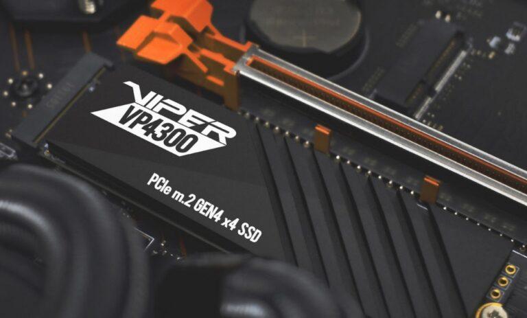 Patrio Viper VP4300 - dysk wpięty w płytę główną