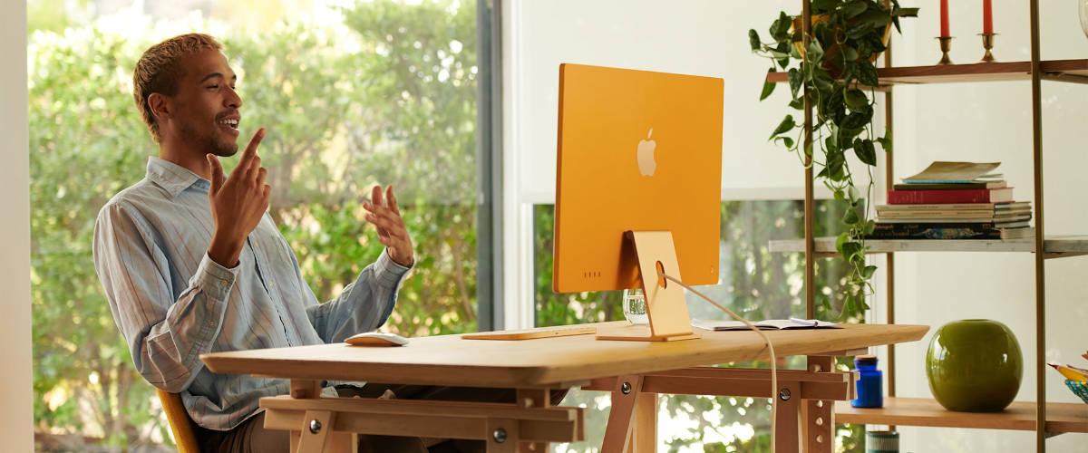 iMac 2021 - materiały promocyjne