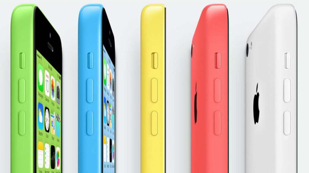 Telefony iPhone 5C