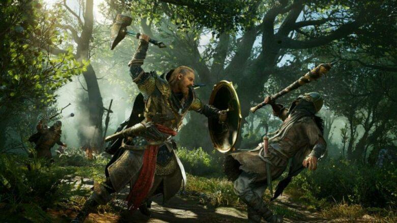 Postać wikinga w Assasin's Creed: Valhalla