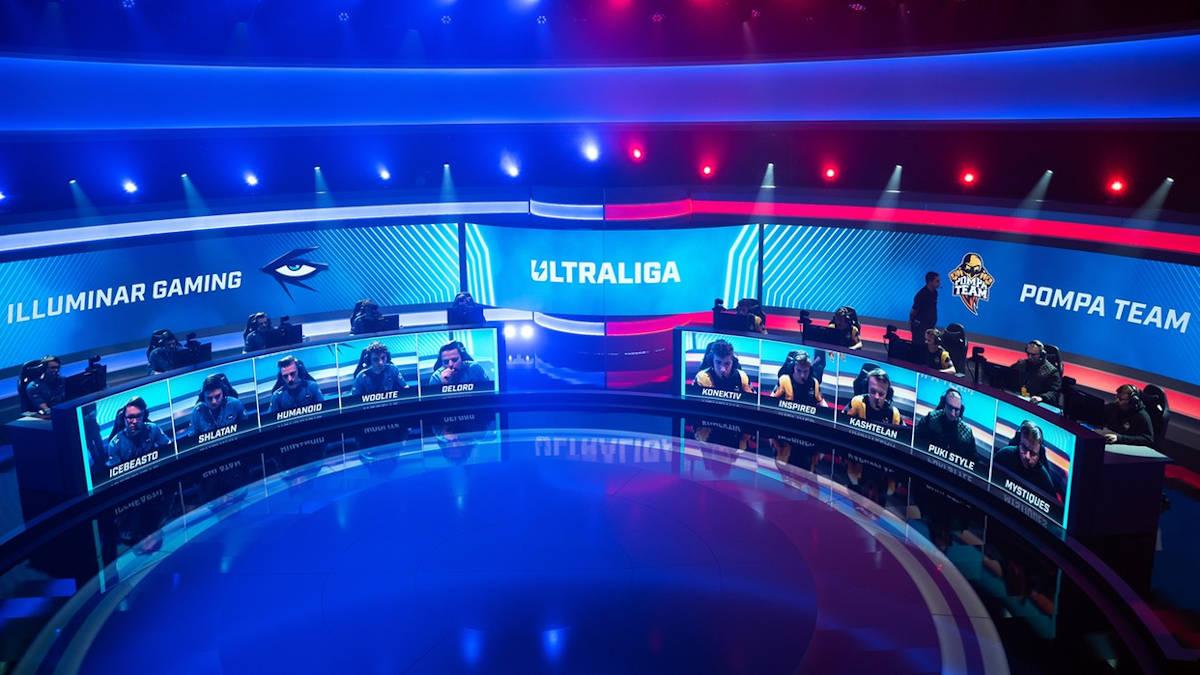 Zdjęcie z zawodów organizacji Ultraliga