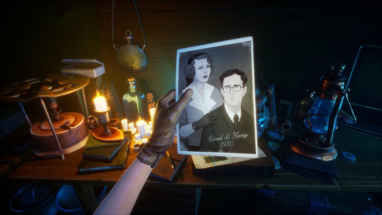 Screenshot z gry Call of the Sea