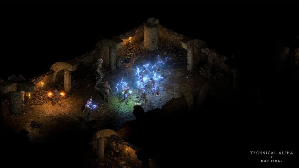 Walka w Diablo 2 Resurrected