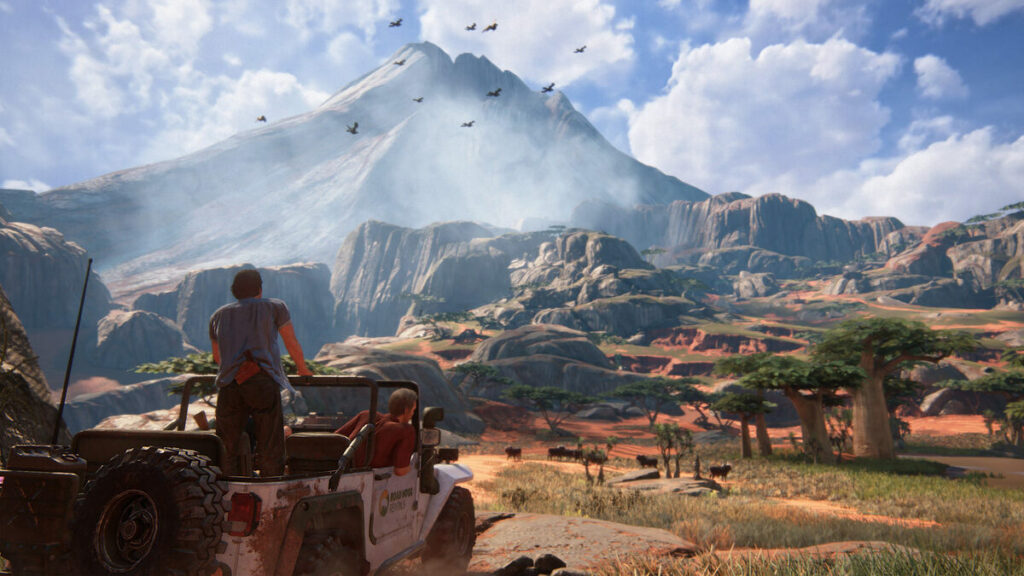 Karjobraz z Uncharted 4: A Thief's End.