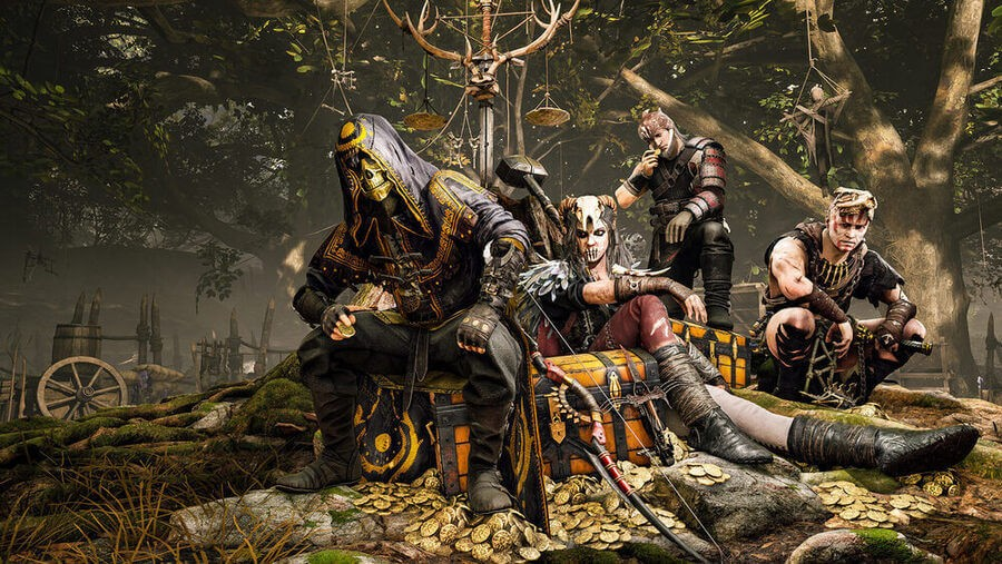 Bohaterowie gry Hood: Outlaws & Legends