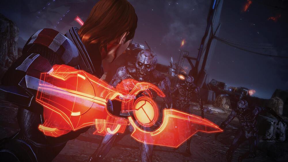 FemShep w Mass Effect Legendary Edition