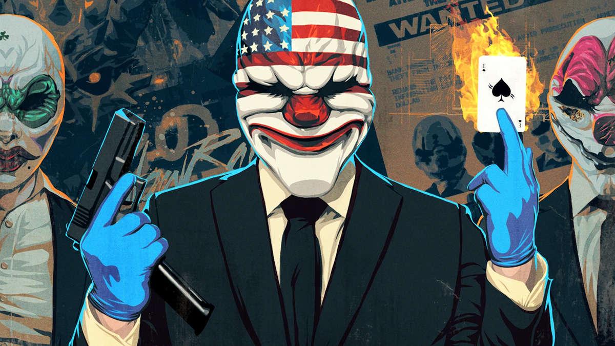 Grafika promocyjna gry PayDay: Crimewave Edition