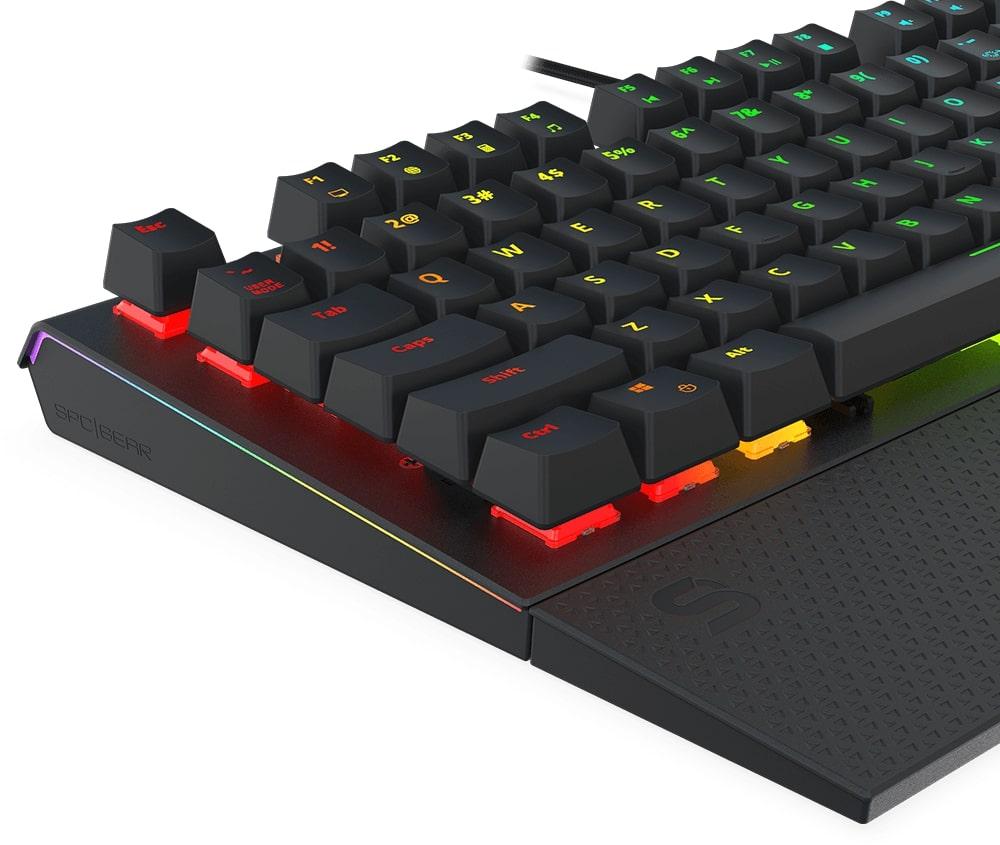 Budowa klawiatury GK650