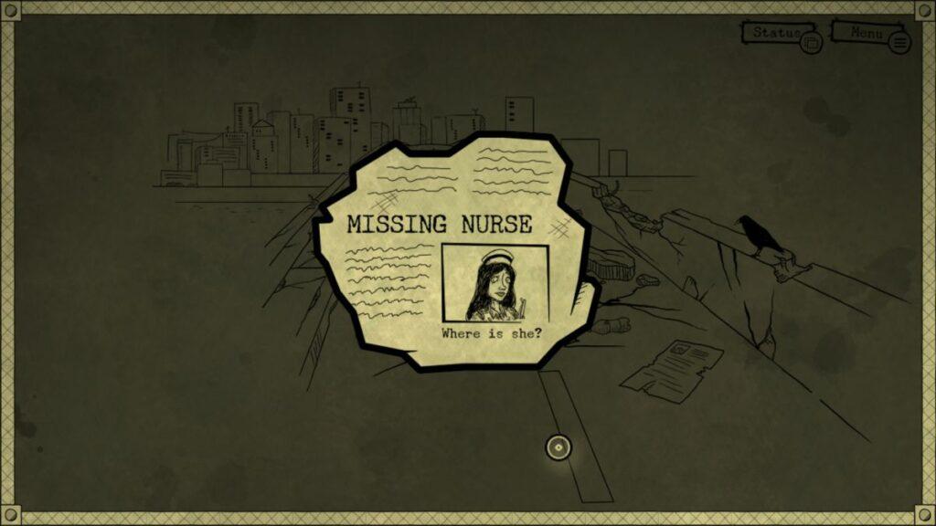 artykuł o zaginionej pielęgniarce