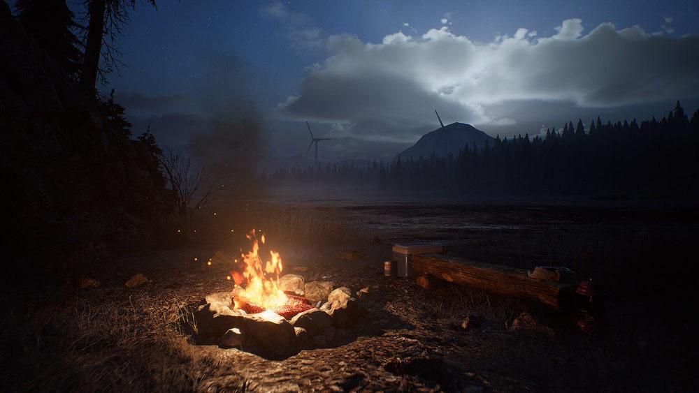 Ognisko w obozie w The Day Before
