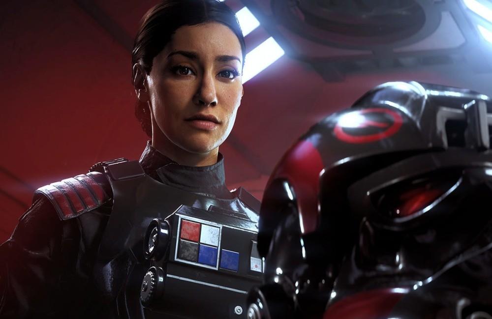 Janina Gavankar jako Iden Versio w Star Wars: Battlefront II