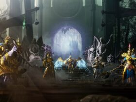 Grafika promocyjna gry Warhammer Age of Sigmar: Storm Grounds