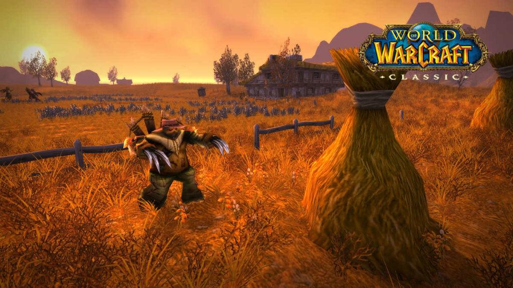 Screenshot z gry WoW Classic