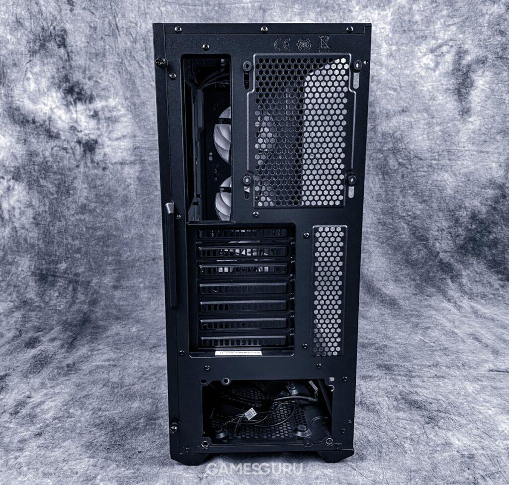 Cooler Master TD500 Mesh - tył