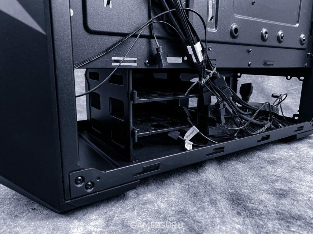 Piwnica Cooler Master TD500 Mesh - spód i nóżki