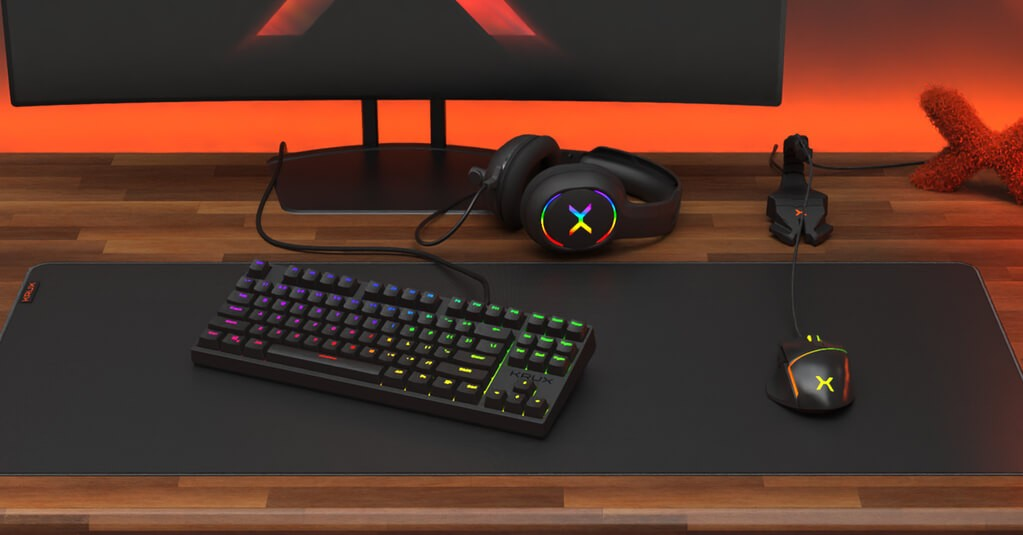 Wygląd klawiatury Krux Atax Pro