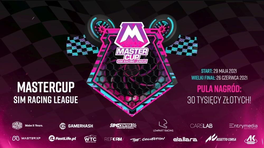 Turniej Master Cup Racing - baner promocyjny