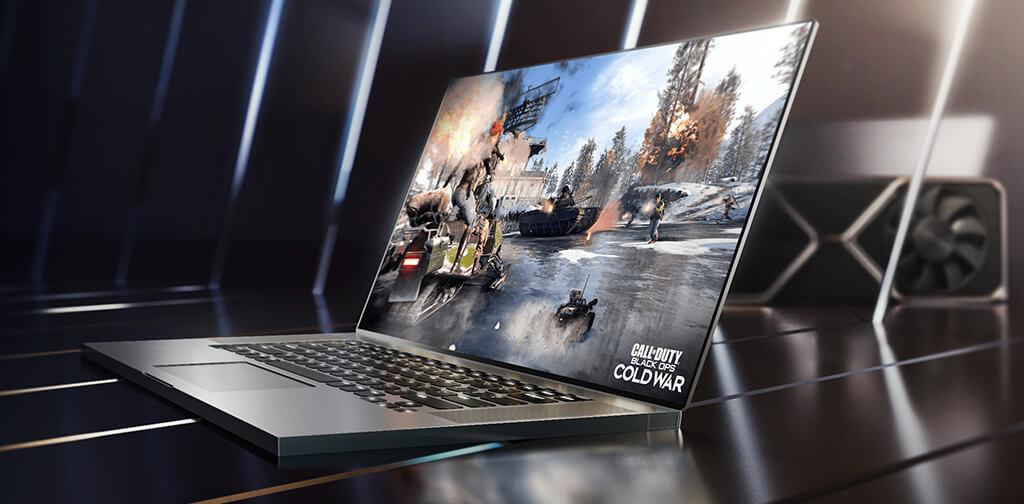 Laptop z procesorem graficznym RTX 3050