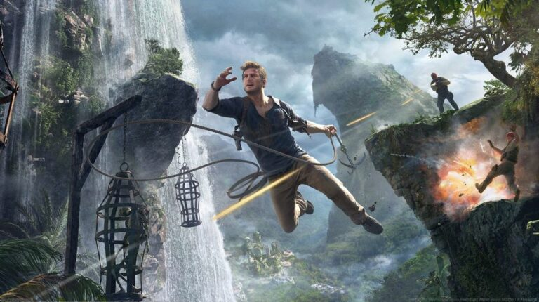 Nathan Drake z serii gier Uncharted