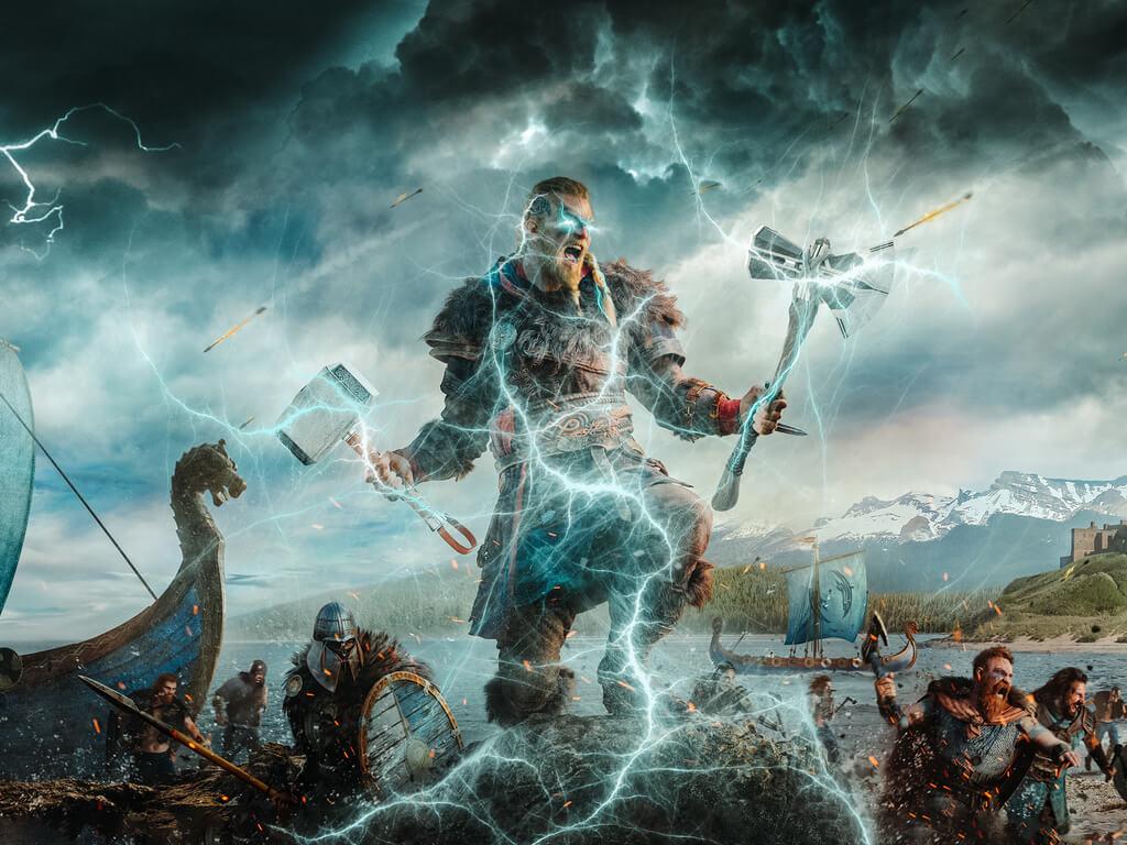 Główny bohater gry Assassin's Creed - Eivor