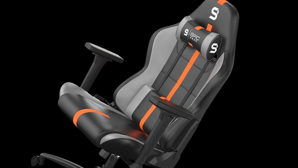 Fotel SPC Gear SR400F RD od boku