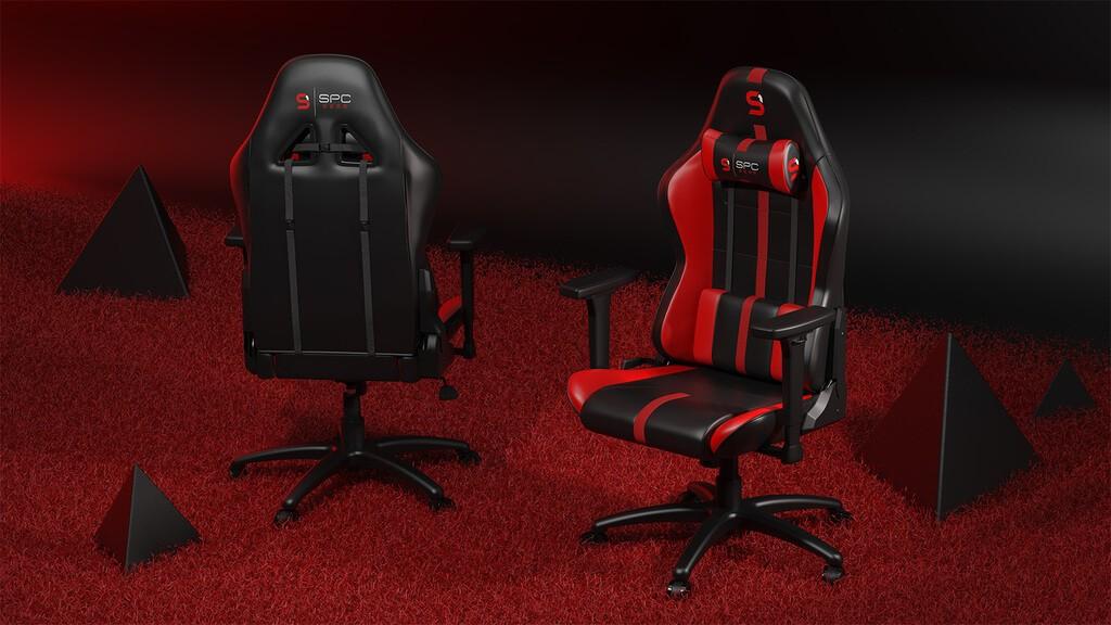 Wygląd fotela z przodu i z tyłu