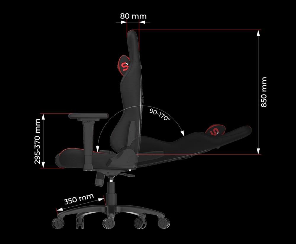 Wymoary fotela SPC Gear SR400