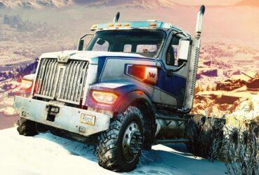 Ciężarówka z gry SnowRunner