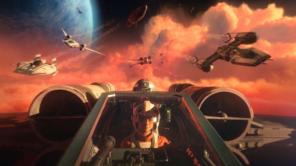 Myśliwce z Star Wars: Squadrons