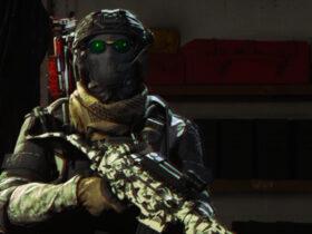 Symulowany efekt aberracji chromatycznej na podstawie Call of Duty: Warzone.