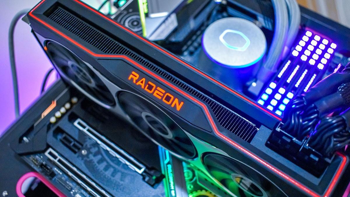 Radeon RX 6900 XT w komputerze