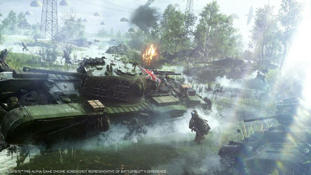 Grafika promocyjna gry Battlefield 5