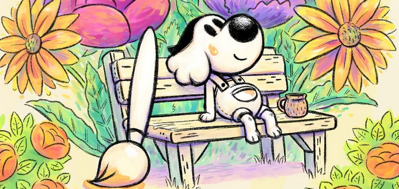 Grafika gry Chicory: A Colorful Tale