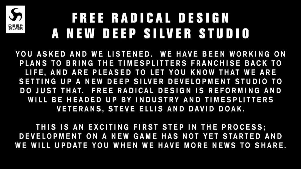 Oświadczenie firmy Deep Silver