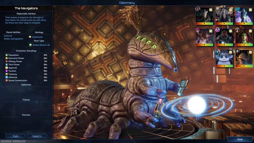 Screen z Galactic Civilizations IV