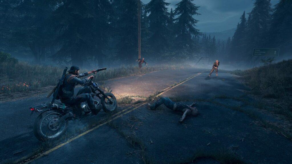 Screenshot z gry Days Gone