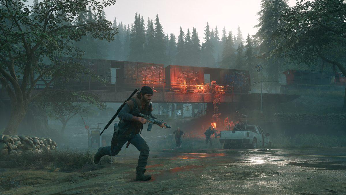 Screen z gry Days Gone