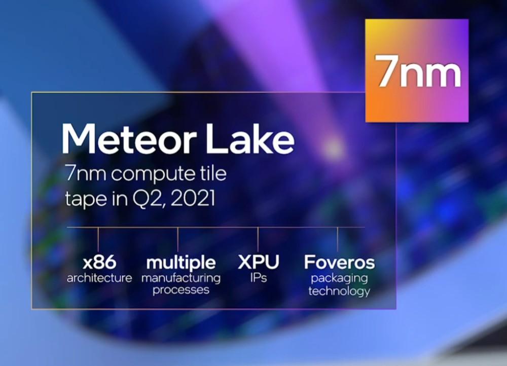 Informacje dotyczące Meteor Lake