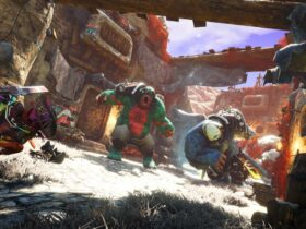 Screen z gry Biomutant
