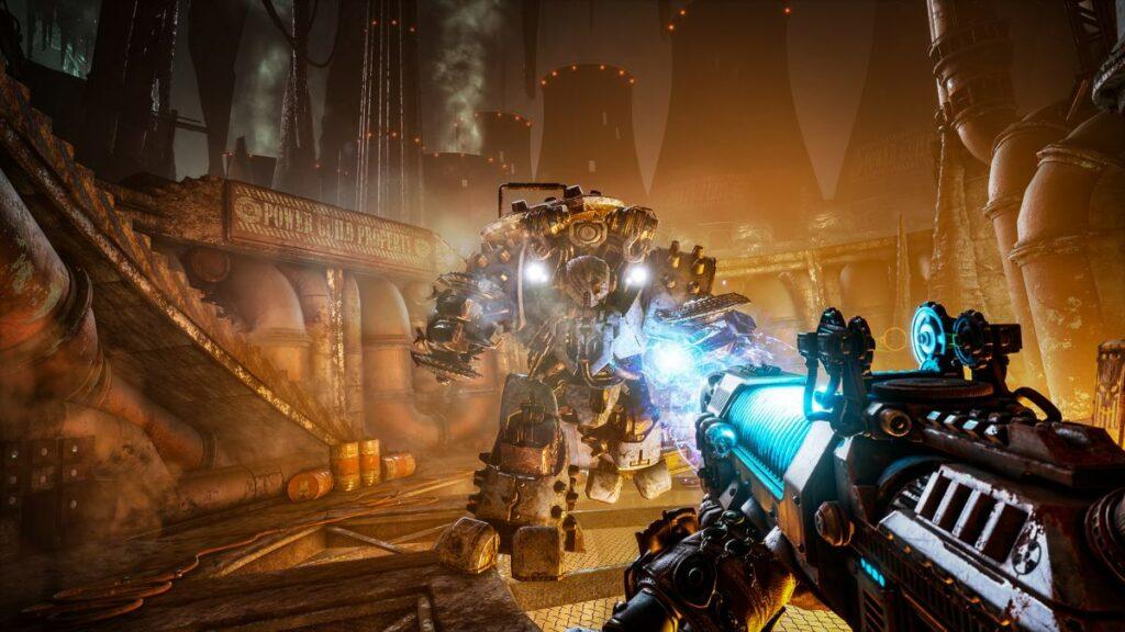 Screen z gry Necromunda: Hired Gun