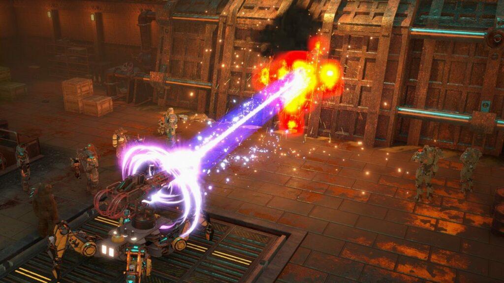 Screen z gry Wasteland 3: The Battle of Steeltown