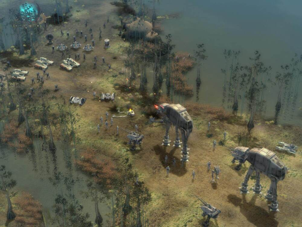 Rozgrywka w Star Wars: Empire at War