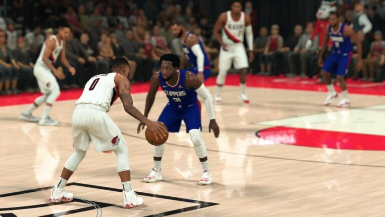 Mecz w grze NBA 2K21