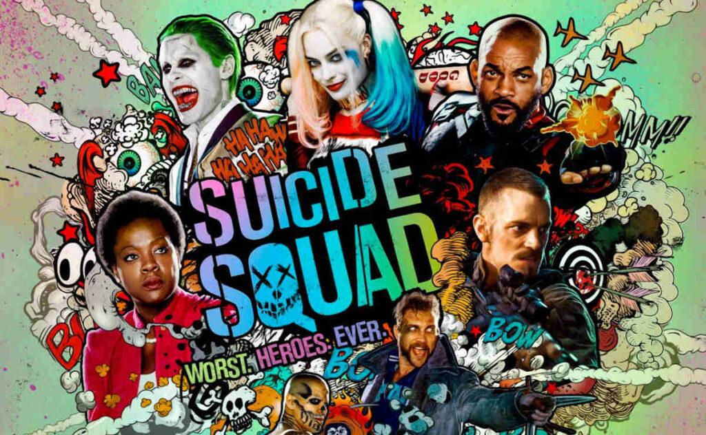 Materiał promocyjny filmu Legion Samobójców