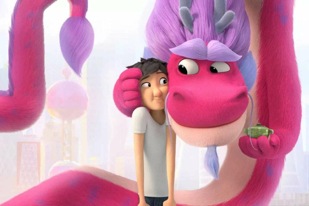 Materiał promocyjny filmu Wish Dragon